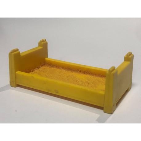 Bed : Bunk/Bottom : Yellow
