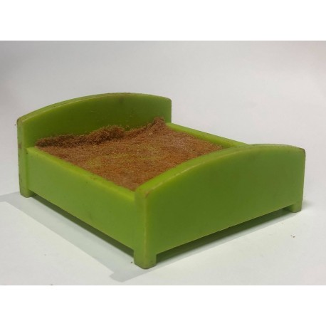 Bed : Double : Lime Green