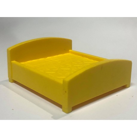 Bed : Double : Yellow (Designs)