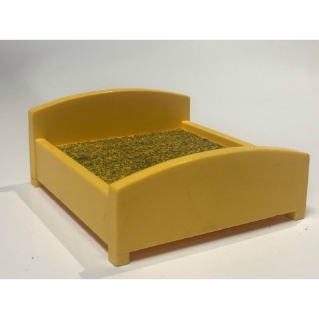 Bed : Double : Yellow
